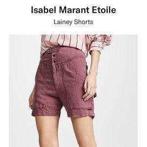 Isabel Marant Laniey Shorts